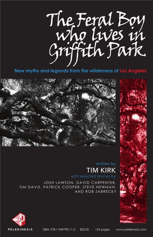 Poster - The Feral Boy who lives in Griffith Park - Tim Kirk